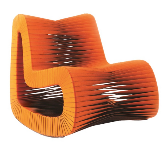 Seat Belt Rocking Chair