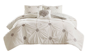 Shabby Chic Embroider Duvet Set