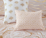 Blushing Gold Comforter Set 5pc Set
