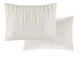 Shredded Ivory  Comforter Set