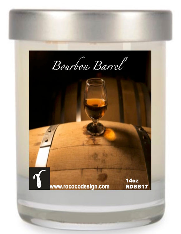 Bourbon Barrel Massaging Oil Candle