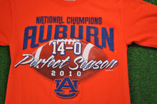 Auburn Tigers 2010 Perfect Season T-Shirt Small