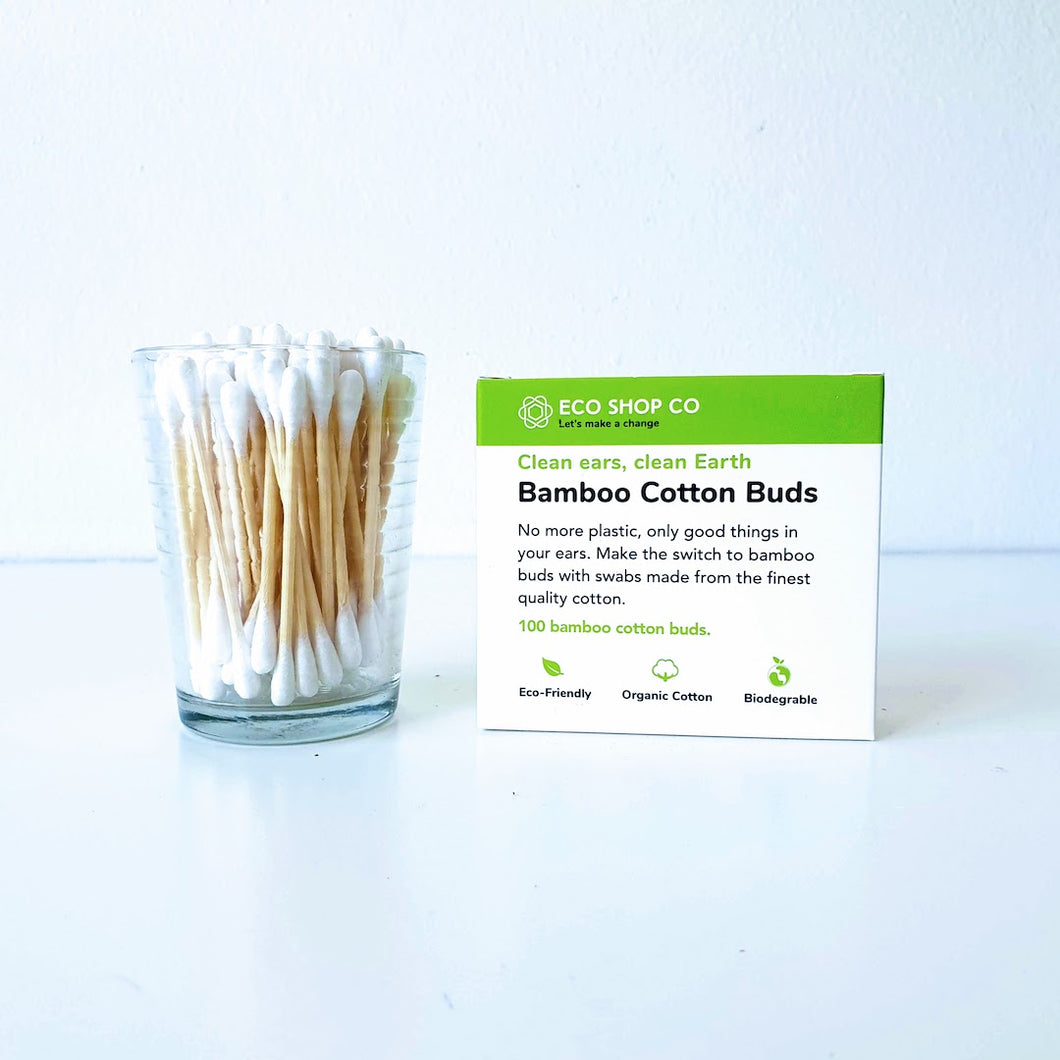 Bamboo Cotton Buds PK100