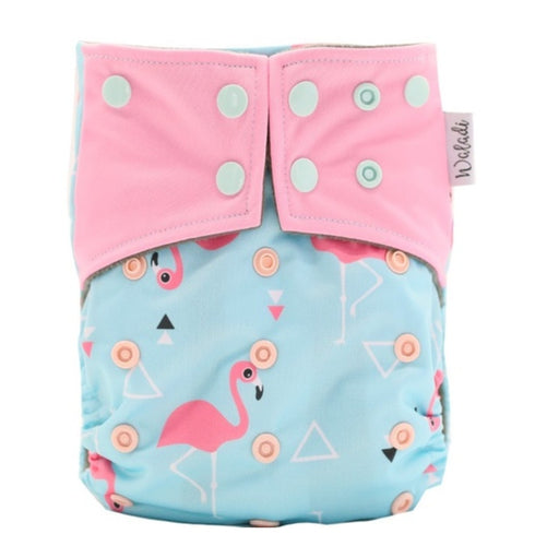 Cloth Nappy Flamingo - Waladi