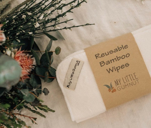 Reusable Bamboo Wipes Pack of 5