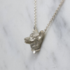 Silver Corgi Necklace