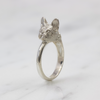 Silver Frenchie Ring