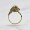 Gold Golden Retriever Ring
