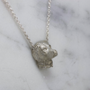Silver Labrador Necklace