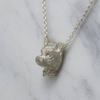 Silver Yorkie Necklace