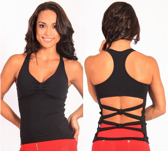 Bow Tie Tank by Equilibrium Activewear,