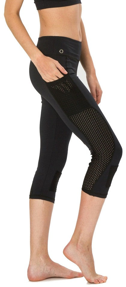 Bluefish Activewear Pocket Capri