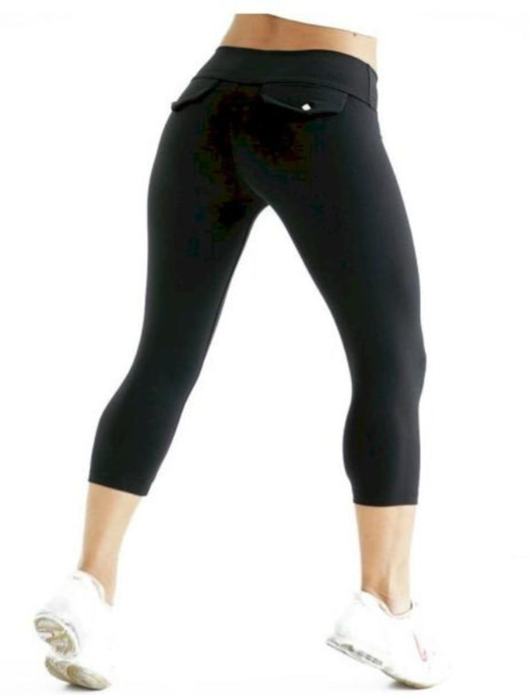 Capri by Bia Brazil Activewear Black One Size