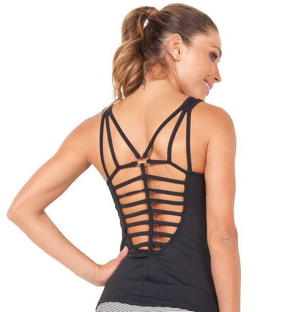 Grid Back Tank Top by Bia Brazil Activewear