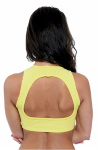 Open Back Bra Top