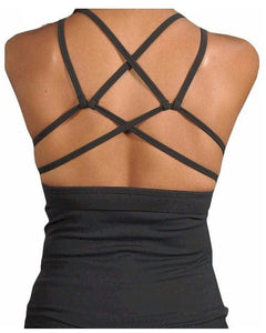 Alina Maze Back Tank Top by Perfection Activewear
