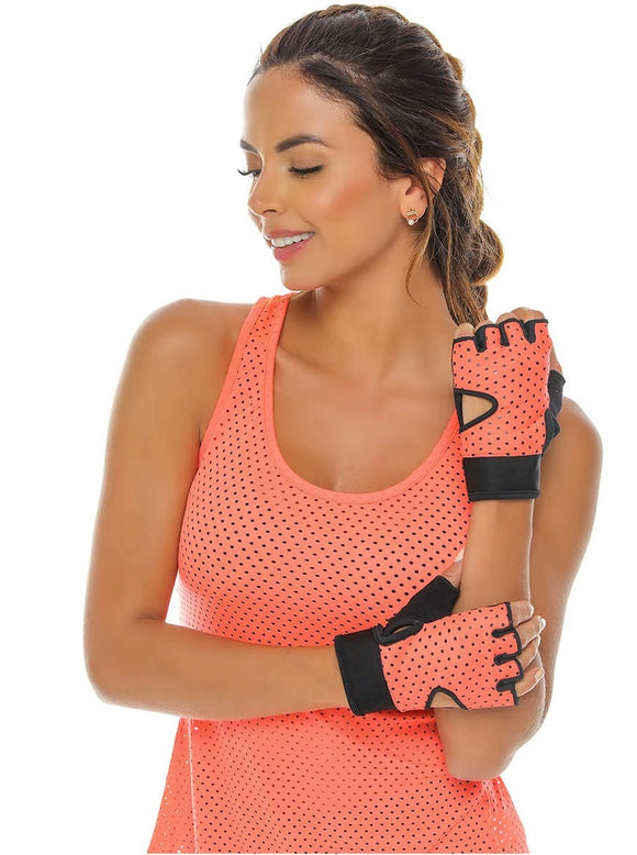 Mesh Workout Gym Fitness Gloves
