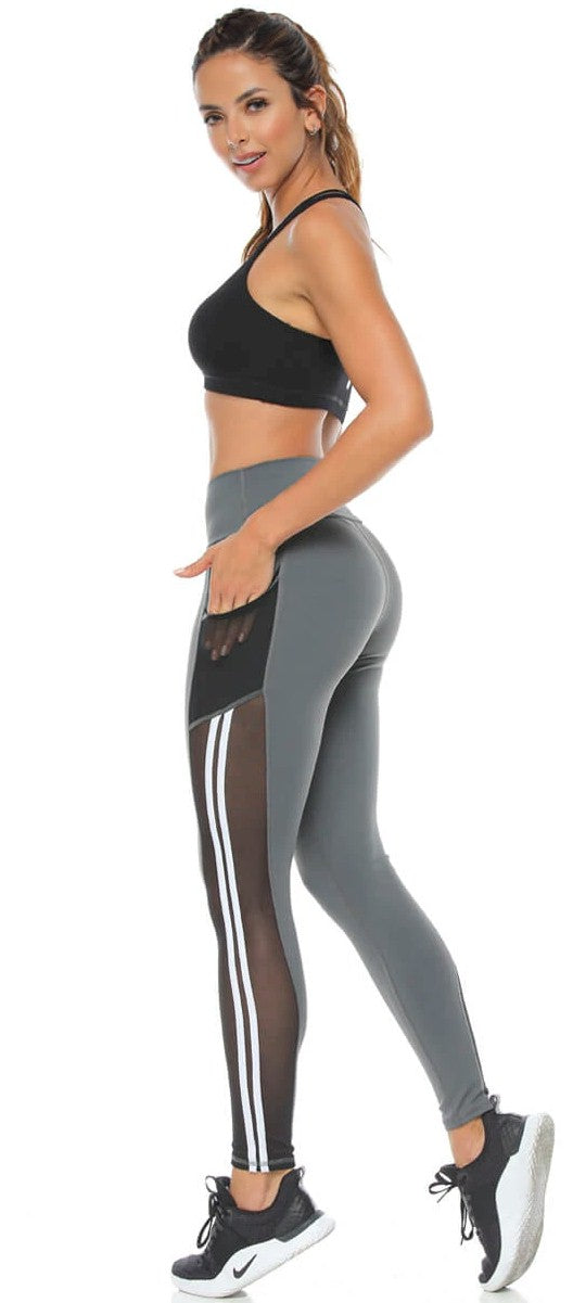 A Anie Virginia Mesh Pocket Legging