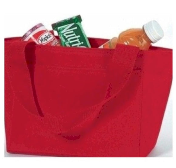 Insulated Lunch Tote with Free Koozie