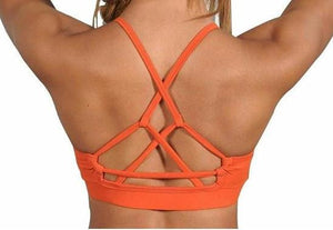 String Back Bra Top by Perfection Activewear