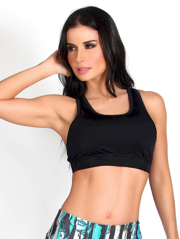 Racer Back Fitness Bra Top