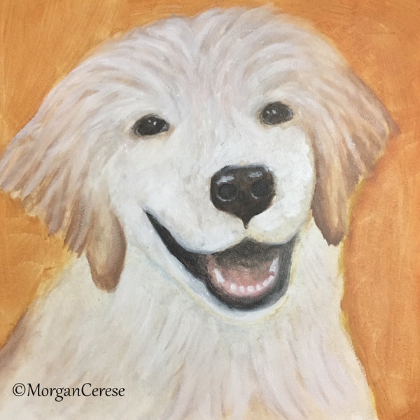 Custom Pet Portrait - 8x10 inches