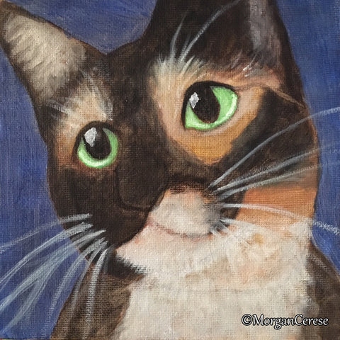 Custom Pet Portrait - 6x6 inches