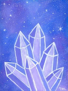 "Crystalline Growth 11""x14"" Print"
