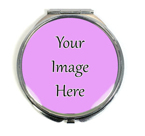 Custom Photo/Text Compact Mirror