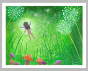 "Faery Dreams 11""x14"" Fine Art Print - Morgan Cerese Art"