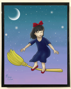 Little Witch Print - 8x10 inches - Morgan Cerese Art
