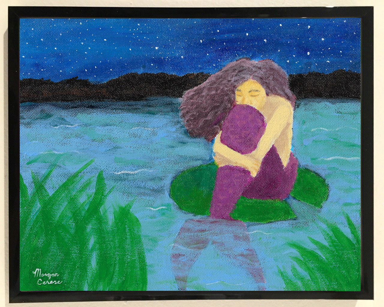 The Lost Mermaid Print - 8x10 inches