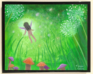 Faery Dreams Print - 8x10 inches - Morgan Cerese Art