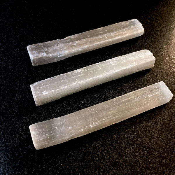 Selenite Stick/Wand/Log - Morgan Cerese Art