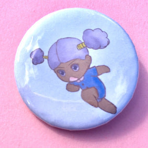 Kiki the Fairy Pin-back Button