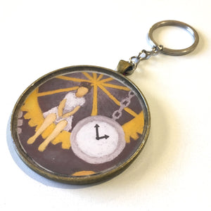 Gears of Time Keychain