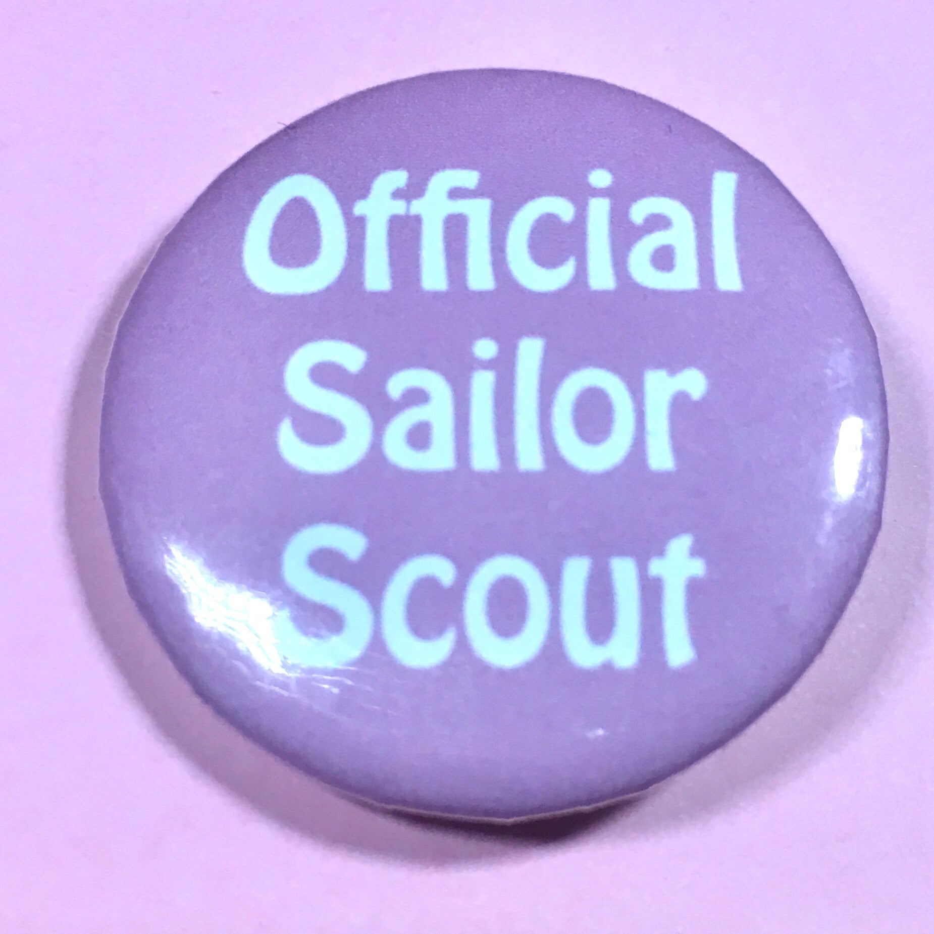Official Sailor Scout Pin-back Button