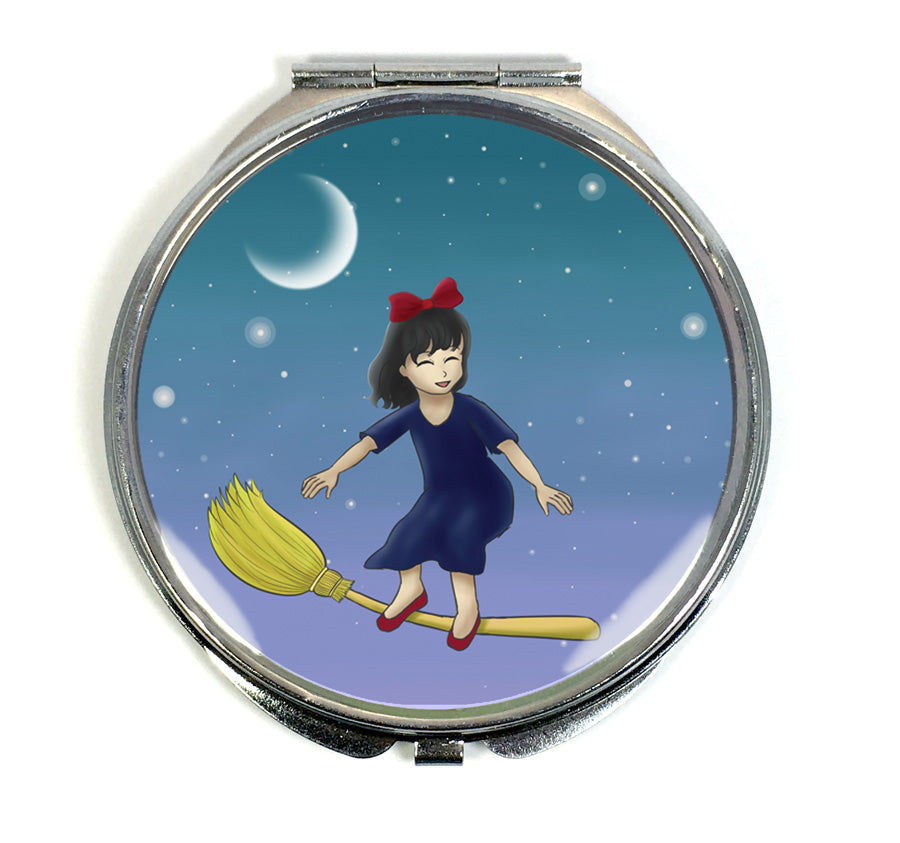 Little Witch Compact Mirror