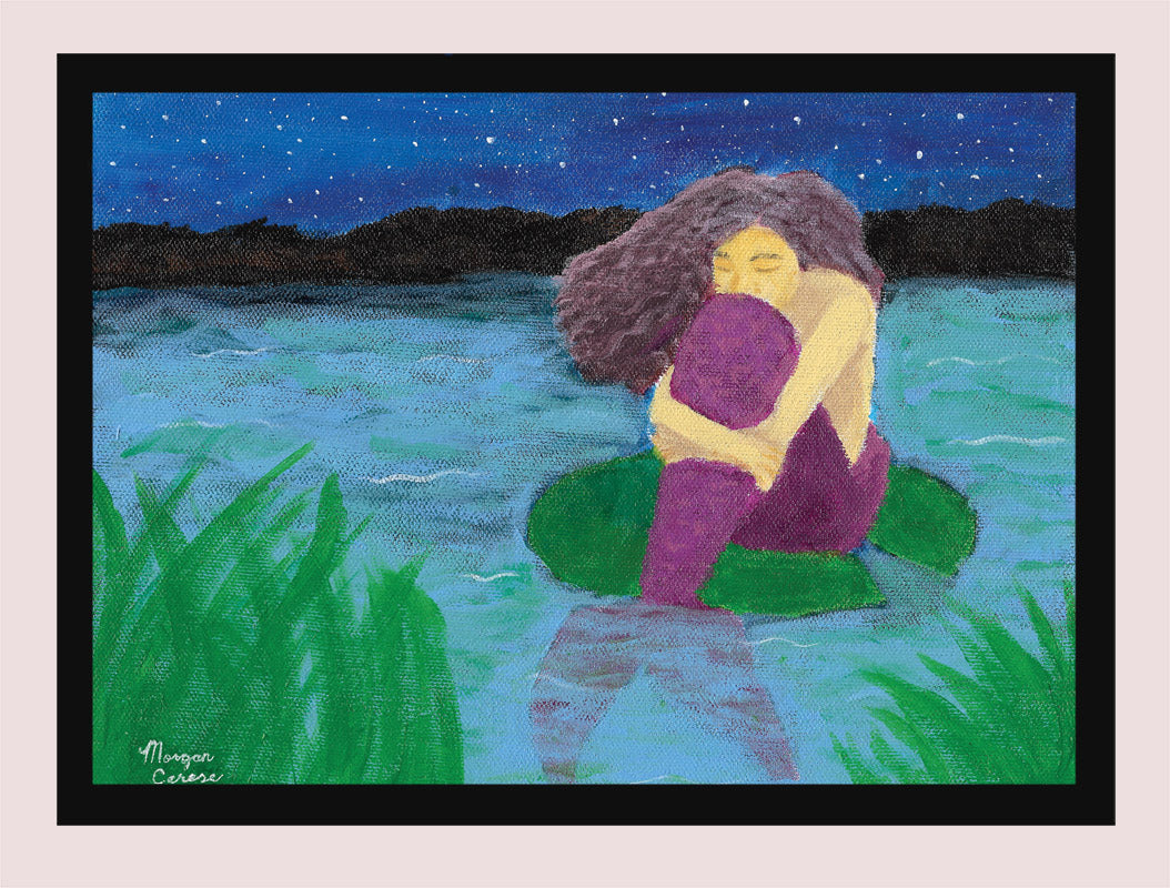 "The Lost Mermaid 5""x7"" Print - Morgan Cerese Art"