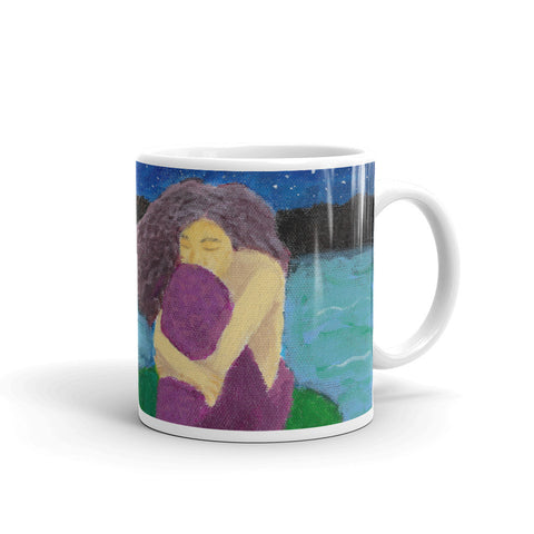 The Lost Mermaid Mug - Morgan Cerese Art