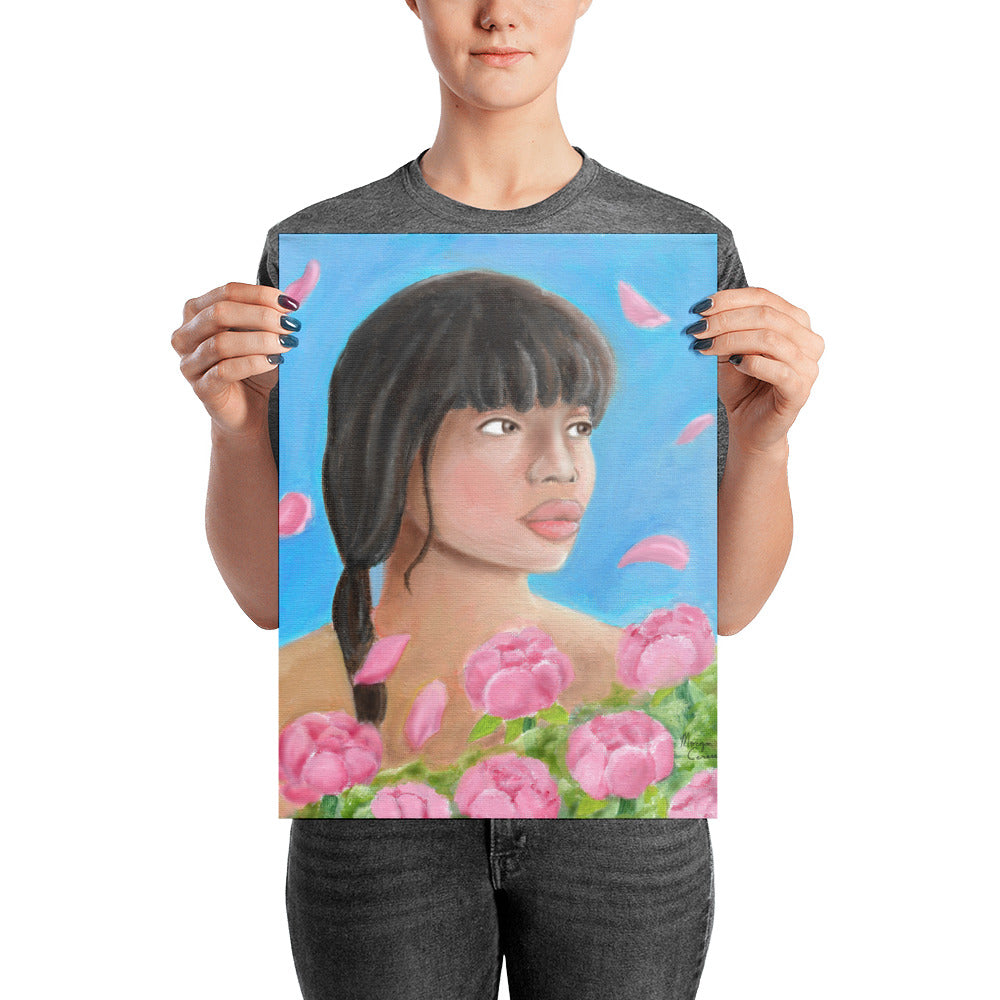 Pink Elegance Photo Paper Poster