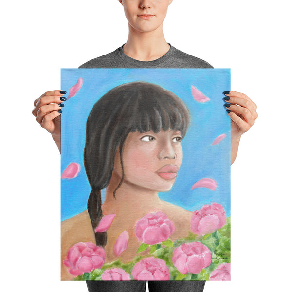 Pink Elegance Photo Paper Poster - Morgan Cerese Art