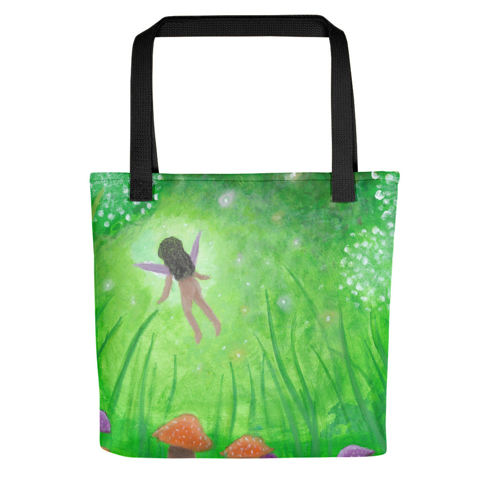 "Faery Dreams 15"" x 15"" Tote bag"