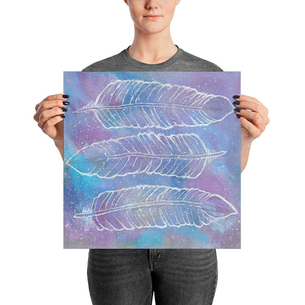 Cosmic Feathers Photo Paper Poster - Morgan Cerese Art