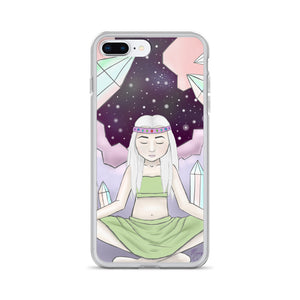 Crystal Witch iPhone Case - Morgan Cerese Art