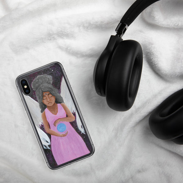 Angel of Clarity iPhone Case