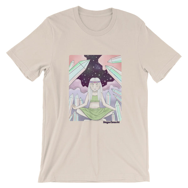 Crystal Witch Short-Sleeve Unisex T-Shirt - Morgan Cerese Art