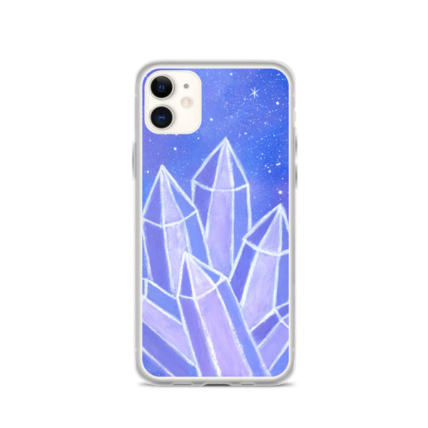 Crystalline Growth iPhone Case
