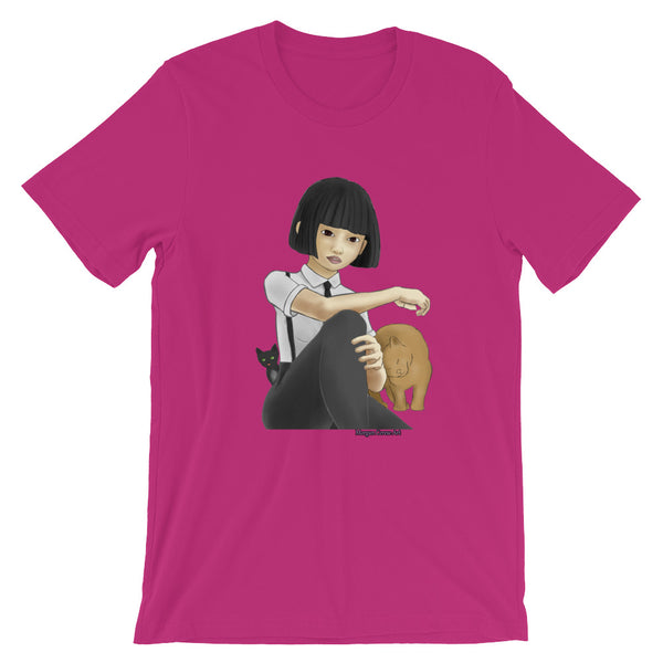 Nekohime (Cat Princess) Short-Sleeve Unisex T-Shirt
