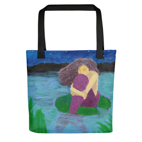 "The Lost Mermaid 15"" x 15"" Tote bag"